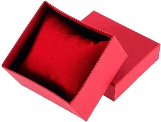 CRAZYON Cartón Actual Caja de Regalo Estuche para Brazalete Joyas Anillo aretes Reloj de Pulsera: Amazon.es: Hogar