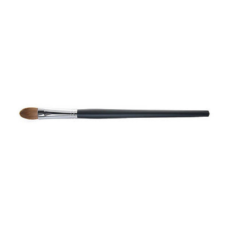 Ai (Love) * Japanese Premium Natural Hair * Professional shape makeup shadow brush - Flat Head - Matt Pink -