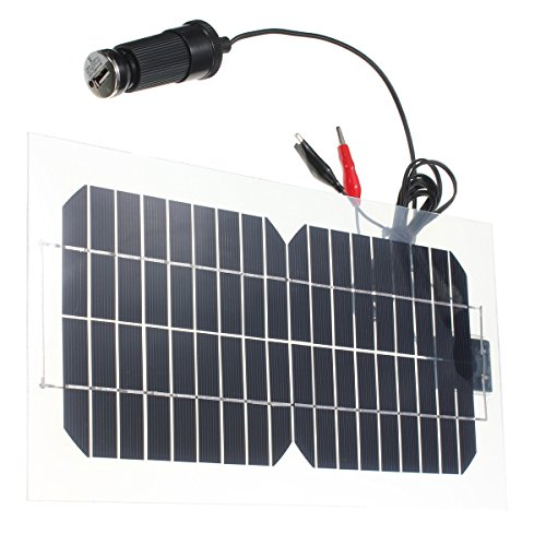 18V-55W-Solar-Charger-Kit-SunPower-Cell-Ultra-Thin-Flexible-Solar-Panel-Charger-124-x-65-x-006-inches-With-DC-USB-Charger-for-Small-Power-Appliances-Cabin-Tent
