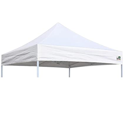 Eurmax Pop Up Canopy Top Gazebo Tent Cover Replacement Only 8x8 Feet White