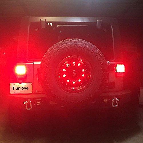 Spare Tire Led Third Brake Light For Jeep Wrangler 2007