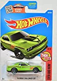 2016 Hot Wheels Kmart Collectors Exclusive Then And Now 9/10 - '15 Dodge Challenger SRT (Lime Green)