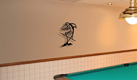 Cuadro decorativo de Metal Figura decorativa Decor - de tiburón de ...