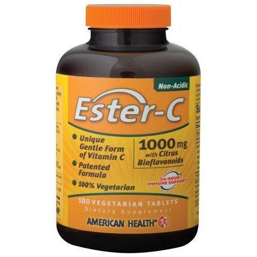 Des produits de santé américaines - Ester CW / bioflavonoïdes d'agrumes, 1000 mg, 180 comprimés veg