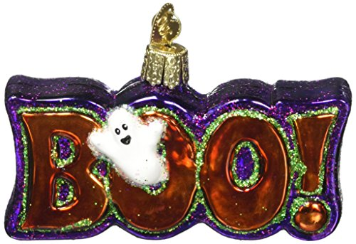 Old World Christmas Boo! Glass Blown (Origin Of Halloween Hallows Eve)