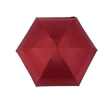 Paraguas plegables-Sunny Paraguas plegable de bolsillo Mini cápsula mujeres,chicas,señoras lluvia