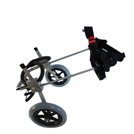 WmyCW Perro Mascota Silla de Ruedas Perro Scooter Miembro Trasero discapacidad Silla de Ruedas Perro discapacitado