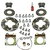 HONDA TRX650 TRX 650 RINCON FRONT LEFT RIGHT DISC BRAKE CONVERSION KIT 03 - 05
