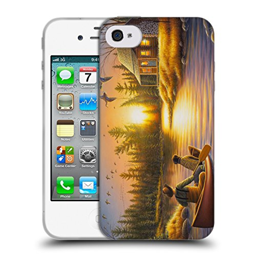 Cooliphone4Cases.com-2825-Best Friends Forever Cabin Soft Gel Case for Apple iPhone 4 / 4S-B01KX4CWPS-T Shirt Design