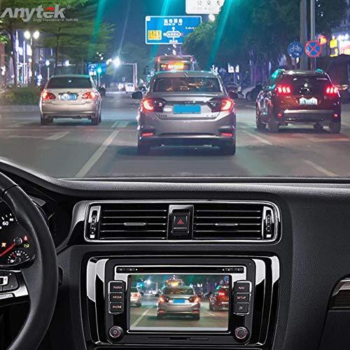 حمل و نقل لوازم جانبی - Anytek X28 مینی ماشین DVR DVR دوربین کامل HD 1080P خودکار دوربین فیلمبرداری دیجیتال ویدئو فای ADAS G سنسور 150 درجه Dash Cam