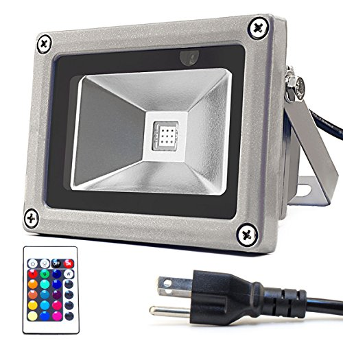 Led 10W Rgb Colour Changing Flood Light Ip65 - 4