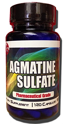 New Pro Force Agmatine Sulfate Nitric Oxide Booster and Muscle Builder Xtreme Bodybuilding Supplements Powerful Amino Acids Anti Fatigue Factor