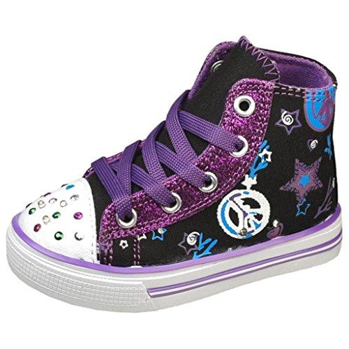 Air Balance Infants Black/Purple Fashion Sneakers