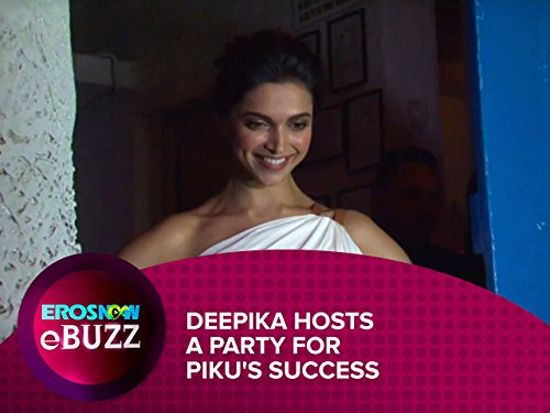 Deepika Hosts a Party for Piku's -