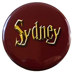 Henry the Buttonsmith Sydney Wizard-themed Name Tag by Henry the Buttonsmith