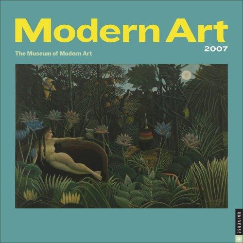 Modern Art 2007 Wall Calendar ()
