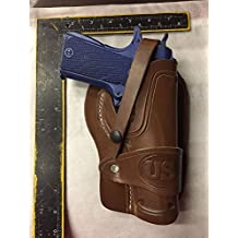 Leather Wild Bunch Holster Colt Springfield RIA Ruger Model 1911