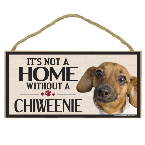 Imagine This Wood Sign for Chiweenie Dog Breeds by Imagine This