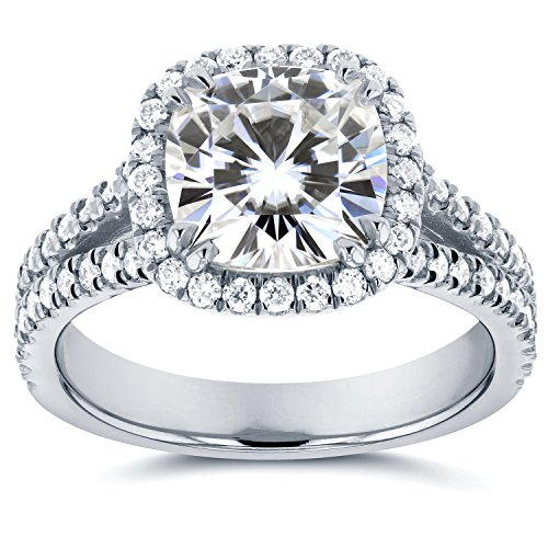 Forever One (D-F) Moissanite a