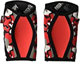 RockTape Assassins Padded Knee Sleeves - 7mm - Red Camo - Extra Small