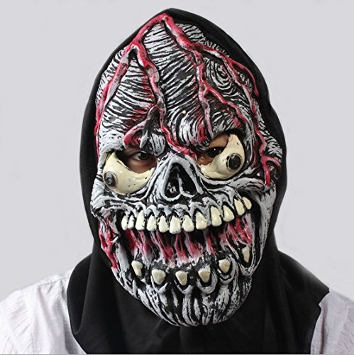 [Candylight Halloween Anime Theme Simulation Environmental Latex Mask] (New Blood Jason Costume)