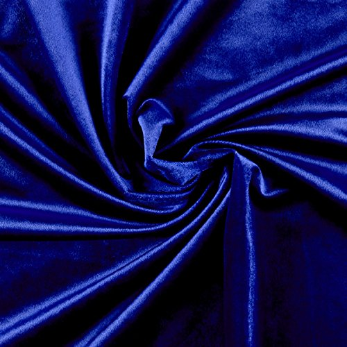Ben Textiles Velvet Royal Fabric by The Yard