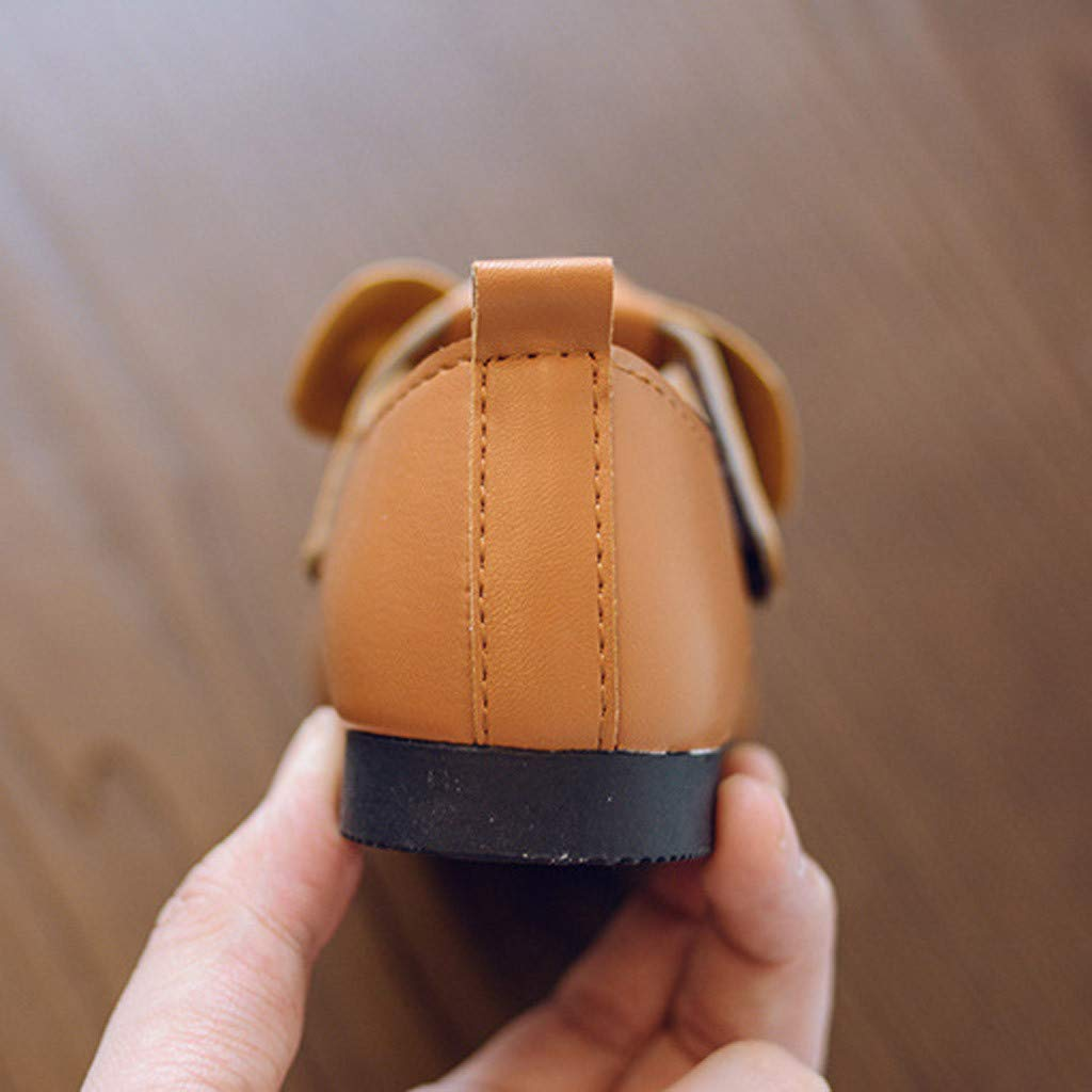 LIKESIDE Mary Jane Walking Shoes for First Walkers Brown