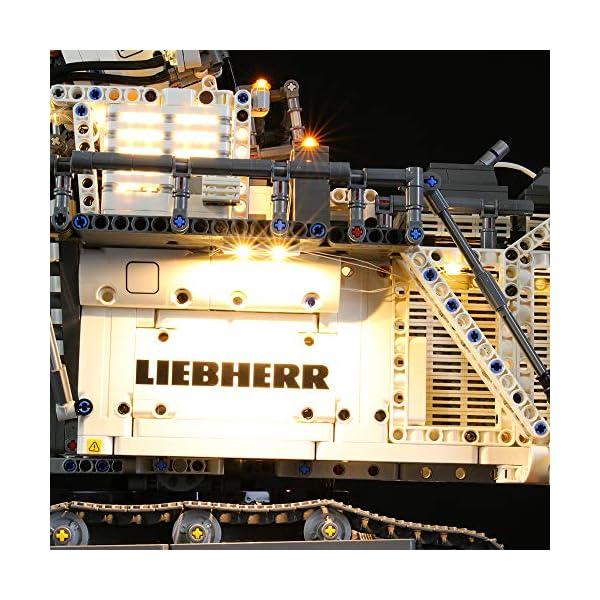 LIGHTAILING Set di Luci per (Technic Power Functions Escavatore Liebherr R 9800) Modello da Costruire - Kit Luce LED… 4 spesavip