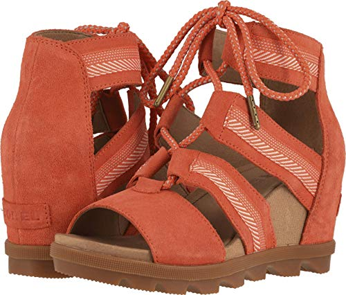Sorel Women's Joanie II Lace Wedge Sandals (8 B(M) US, -