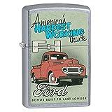 Ford, America's Hardest Working Truck - Street Chrome Zippo Lighter 77163