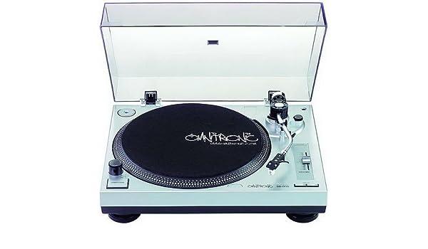 Tocadiscos Omnitronic BD de 1350 Transmisión por correa: Amazon.es ...