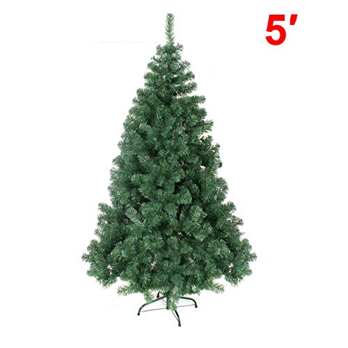 5' GREEN 150CM NEW Classic Pine Christmas Tree Artificial Realistic Natural Branches-Unlit