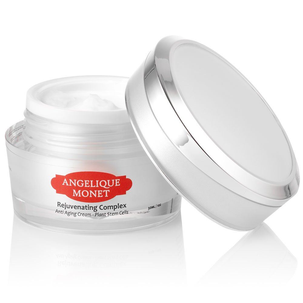 Angelique Monet Anti Aging Cream W Vitamin C And Natural Jill Beauty Day Plant Stem Cell Rejuvenating Complex For Or Night 1 Oz