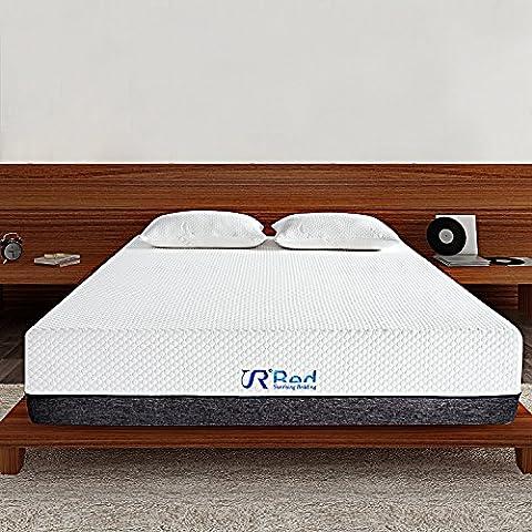Sunrising Bedding 12 Inch Cool Air-Flow Green Tea Memory Foam Mattress King Size with FREE 2 - 2 Free Mattresses