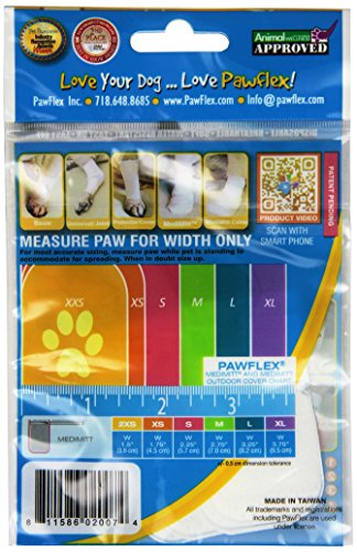 Picture of PawFlex Bandages Medimitt Bandages for Pets (Pack of 4) 2XSmall
