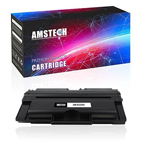 Dell 2355dn Laser Printer (Amstech Compatible Toner Cartridge Replacement for Dell 2335DN HX756 330-2209 330-2208 Dell 2335 Toner Dell 2335DN Toner 2355 2355DN Laser Printer High Yield 6,000 Pages)