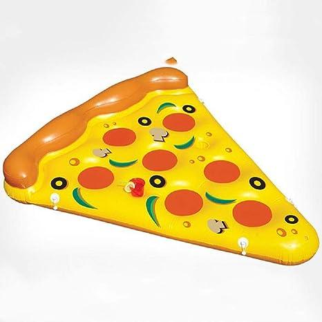 La mayor atención en la playa] Forma de una pizza Anillo flotante ...