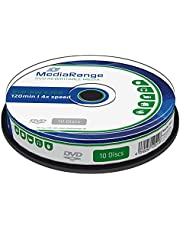 MediaRange MR450 DVD-RW 4,7 GB (4x speed, herbeschrijfbaar, 10 stuks)
