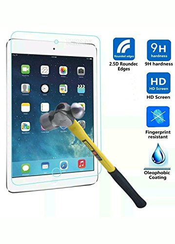 MENZO Screen Protector for iPad 2 3 4, [9H Hardness] [Crystal Clear] [Scratch-Resistant] Premium Tempered Glass Screen Protector for iPad 2 3 4 Gen 9.7 inch Tablet