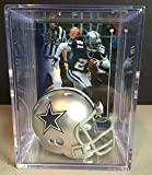 Dallas Cowboys NFL Helmet Shadowbox w/Deion Sanders card