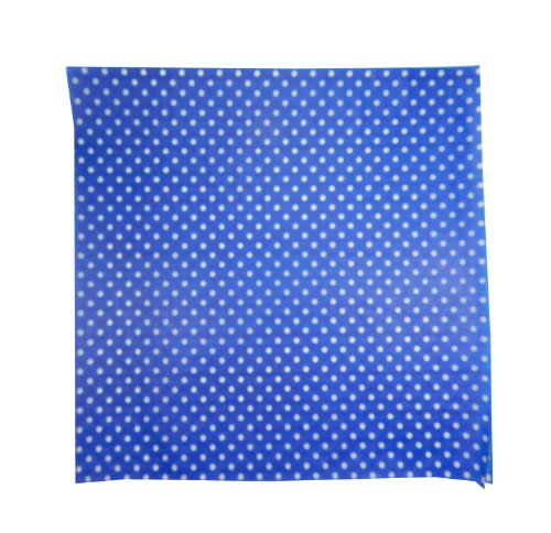 Regency Wraps RW376BL-D-50 Treat Sheets, Cobalt Blue with White Dots, Set of 50 Liners