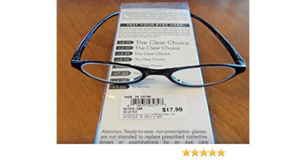 10ad62ac25c Amazon.com  Foster Grant Compact Reading Glasses 2.75 Lenses  Health    Personal Care