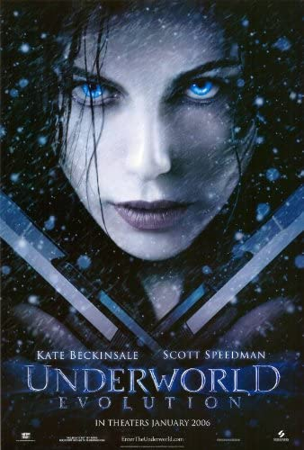 Amazon.com: Underworld: Evolution 27 x 40 Movie Poster - Style A:  Lithographic Prints: Posters & Prints