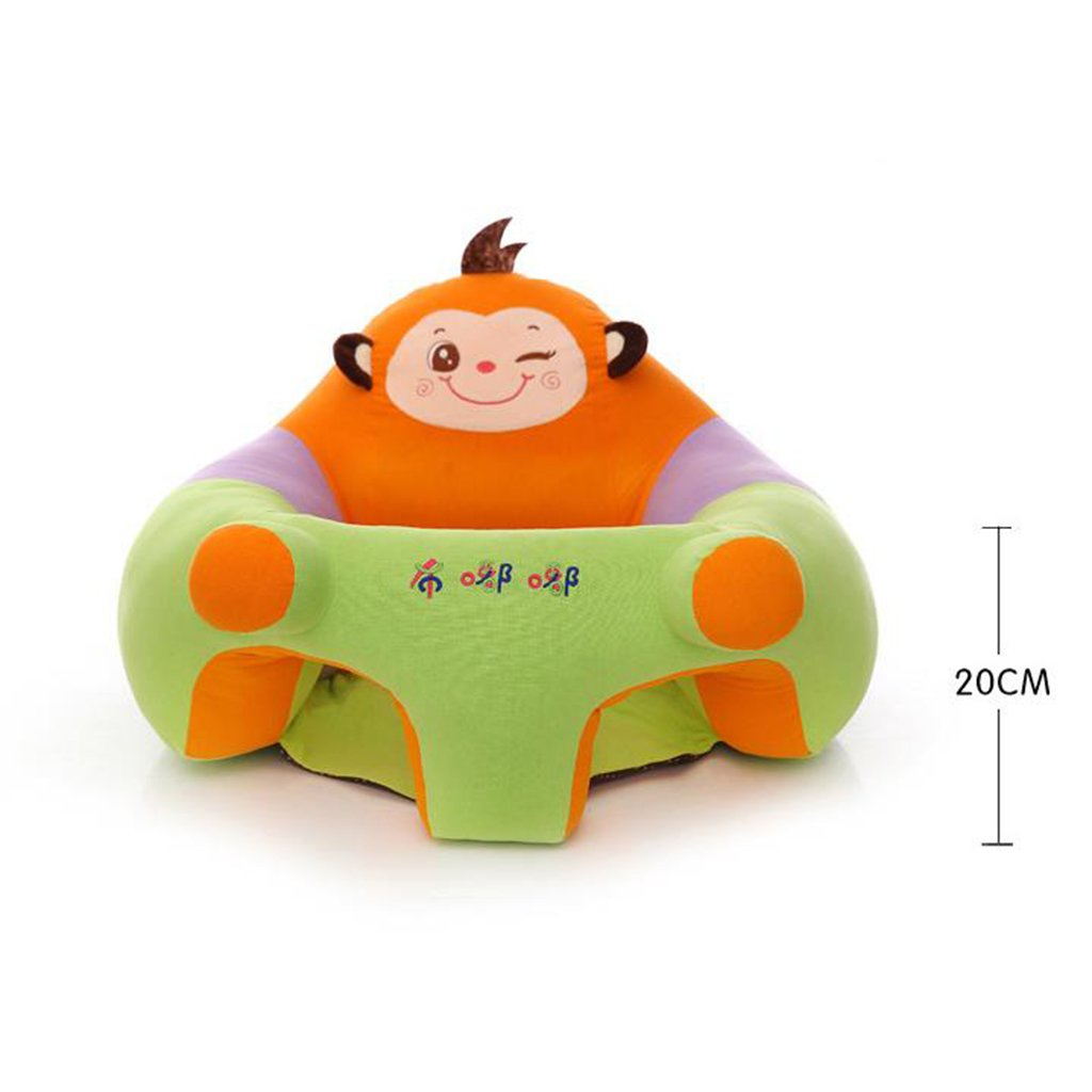 Amazon.com : Dovewill Baby Support Seat Learn sit Soft Chair Cushion Sofa Plush Pillow Toys - Dog, as described : Baby