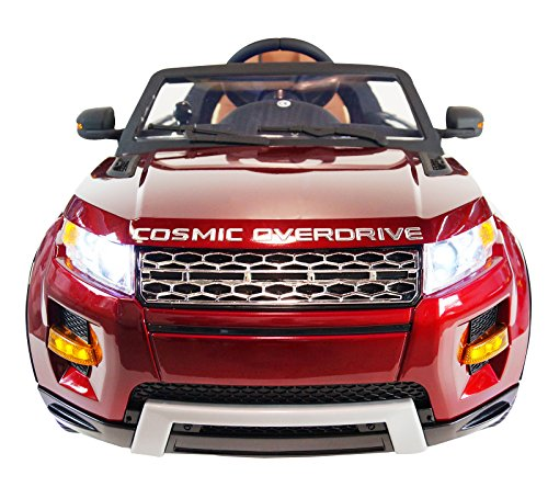 Electric Toy Cars For Boys : Range rover style premium ride on electric toy car for