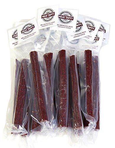 Meat Taffy 15 Big Swinging Original Sticks