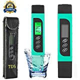 [4-Mode]Best Water Tester, Digital TDS Meter,Ultra-Fast High Accuracy Portable Water TDS Quality Tester - Perfect for Drinking Water, Hydroponics, Aquariums, Swimming Pools - (0-9990 ppm)
