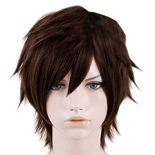 Xcoser Fashion Dragong Boy Hiccup Cosplay Wig Hair For Cosplay (Halloween Costume 1012)