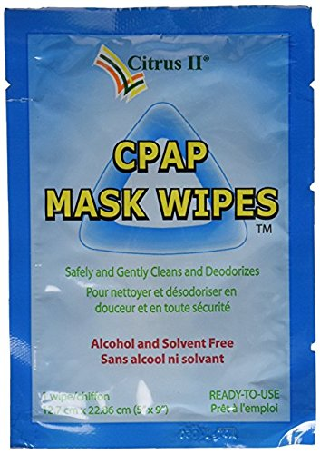 Citrus II Cpap Mask Wipes 62 Count Canister + 12 Individually Wrapped Travel Wipes by Beaumont (Image #2)
