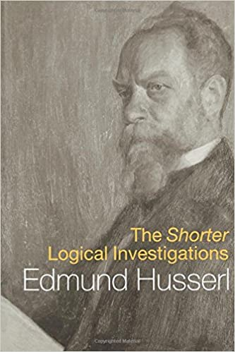 The Shorter Logical Investigations (International Library of Philosophy)